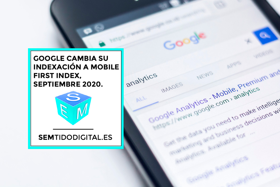Mobile first index, semtido digital