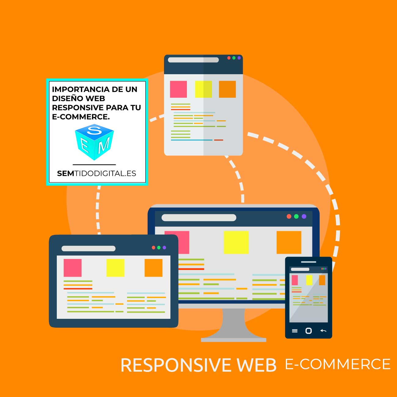 Diseño web responsive y exclusivo para e-commerce