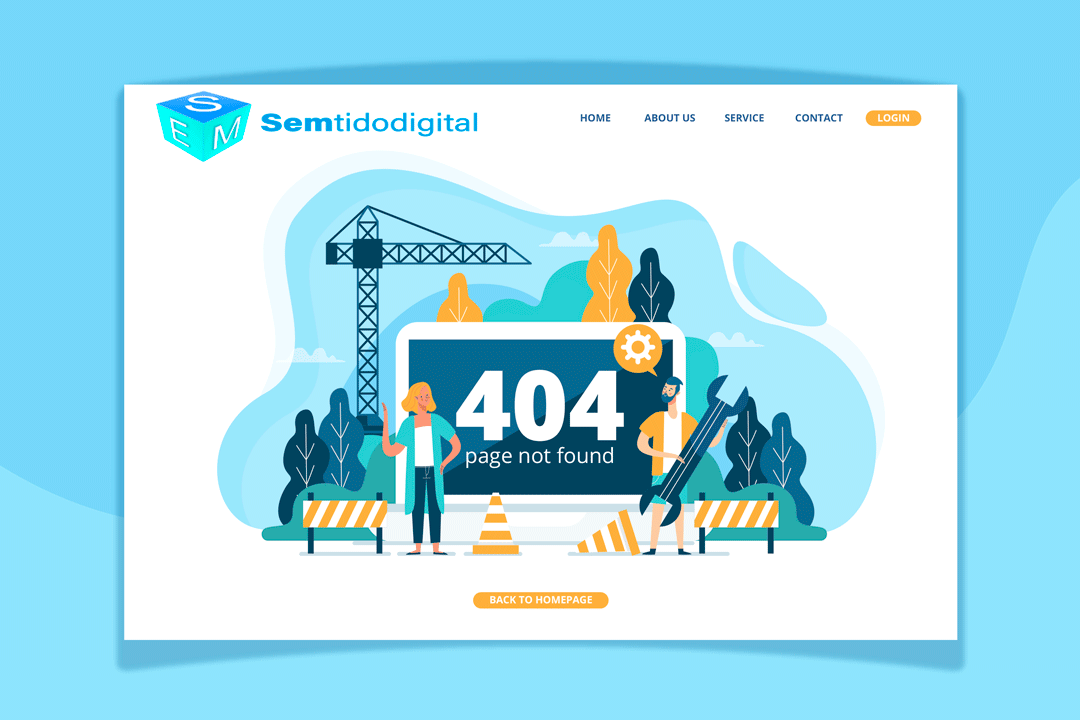 error 4040 Semtido Digital - errores SEO 2020