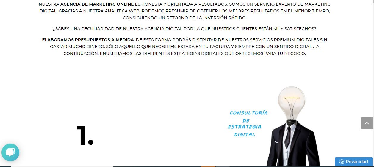 texto original semtido digital css